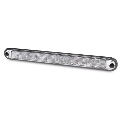 Hella 12V LED Centre High Mounted Stop Strip Lamp - Clear Lens