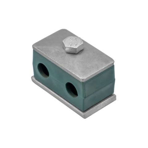 """1/2"""" Double Pipe Clamp"""