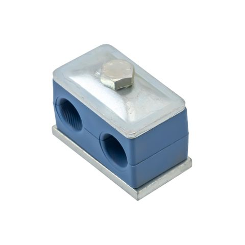 15mm Double Pipe Clamp