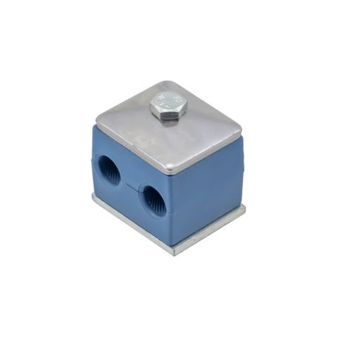 """10mm / 3/8"""" Double Pipe Clamp"""
