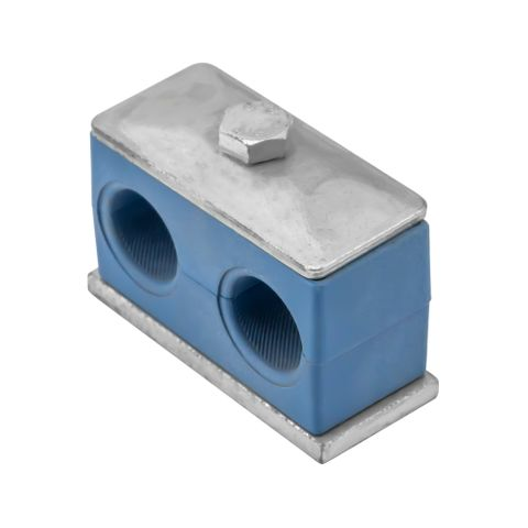 20mm Double Pipe Clamp