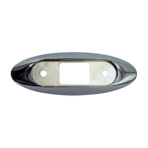 Peterson Chrome Side Light Housing B168-10