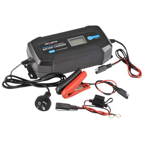 Projecta Battery Charger 8A 12V 8 Stage