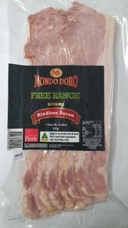 FREE RANGE R/LESS BACON 500G (EA)