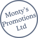 Montys Promo Logo