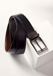 Men's Leather Reversible Belt