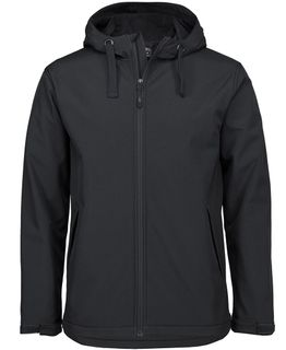Podium Adults Water Resistant Hooded Softshell Jacket