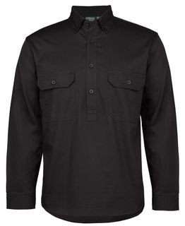 C of C Longreach Closed Front Shirt