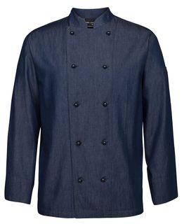 JB's Denim L/S Chef's Jacket