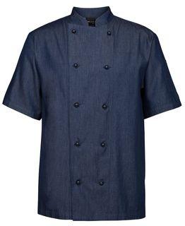 JB's Denim S/S Chef's Jacket