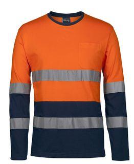 JB's D+N L/S Crew Neck Cotton T-Shirt