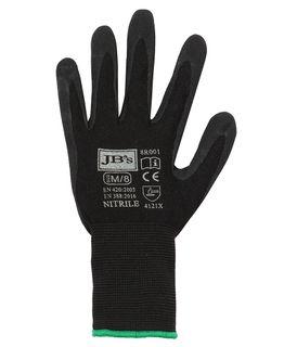 JB's Black Nitrile Glove (12 Pack)