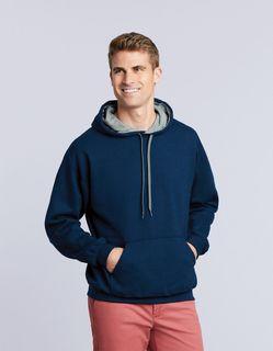 Gildan Heavy Blend Adult Contrast Hooded Sweatshirt