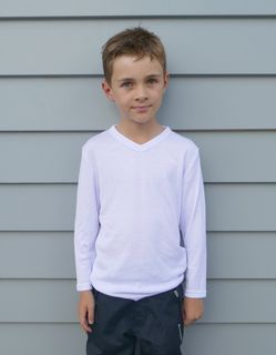 Workguard Youth Longsleeve V-Neck Thermal