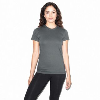 American Apparel Ladies'' Fine Jersey Short Sleeve T-Shirt