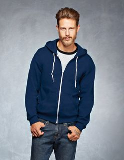 Anvil - Full-Zip Hooded Fleece