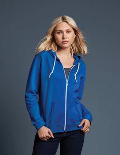 Anvil Ladies'' Full-Zip Hooded Fleece
