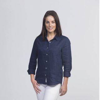 Linen Shirt - Women's