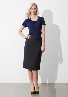 Ladies' Classic Below Knee Skirt