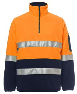 JB's Hi-Vis (D+N) 1/2 Zip Polar Fleece