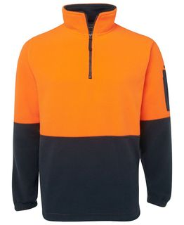 JB's Hi-Vis 1/2 Zip Polar Fleece