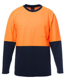 JB's Hi-Vis L/S Traditional T-Shirt