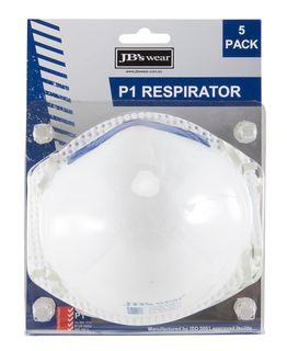 JB's Blister (5Pc) P1 Respirator