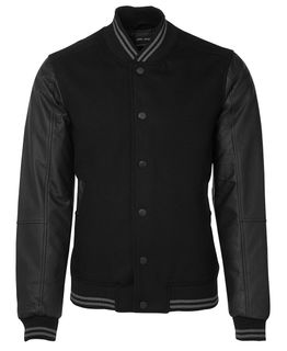 JB's Art Leather Baseball Jacket