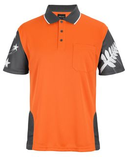 JB'S Hi Vis NZ Fern Polo