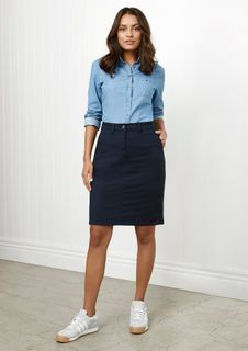 Lawson Ladies Chino Skirt