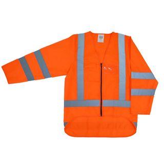 Hi-Vis Long Sleeve Safety Vest