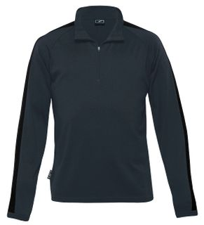 Merino Contrast Insert Pullover - Men's