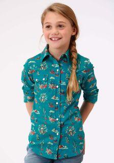 Girl's Western Shirts