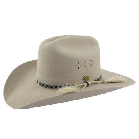 The Great Divide Fur Felt Hat - FURLTCREAM