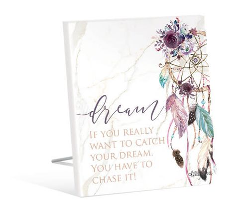 Boho Fairy Dream Sentiment Plaque - KBD-0581