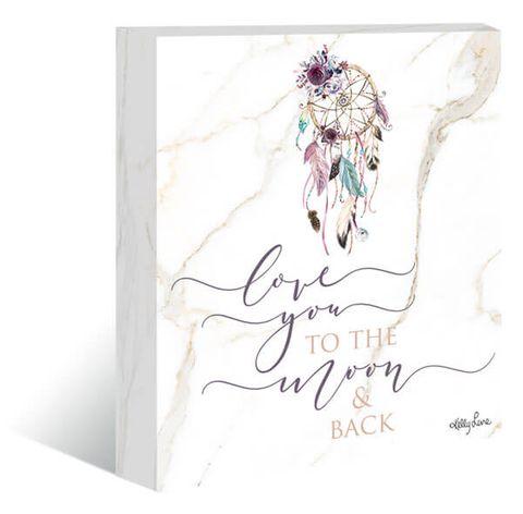 Boho Fairy Moon Canvas - KWL-0060