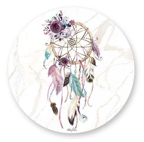 Boho Fairy Dream Round Placemats - KTW-0055
