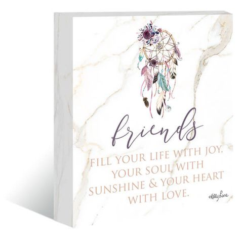 Boho Fairy Friends Canvas - KWL-0061