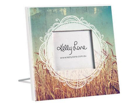 Holy Cow Circle Photo Frame - 1-CW9465
