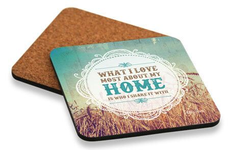 Holy Cow Home Coaster Set - 1-D7573