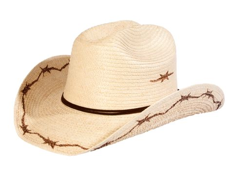 Barbed Wire Palm Hat - HGKC BW2