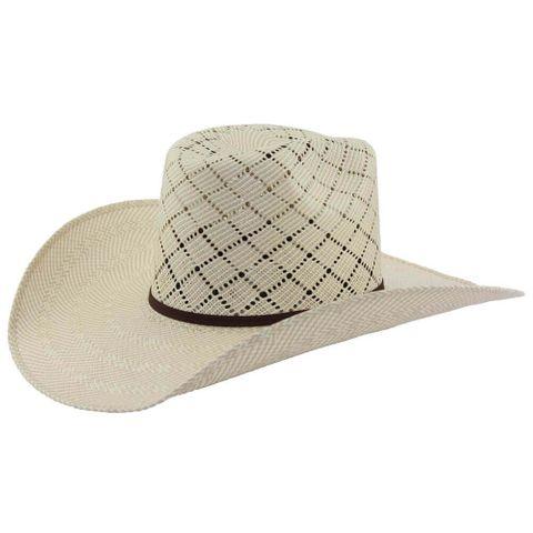 Texas Straw Cowboy Hat - TEXAS
