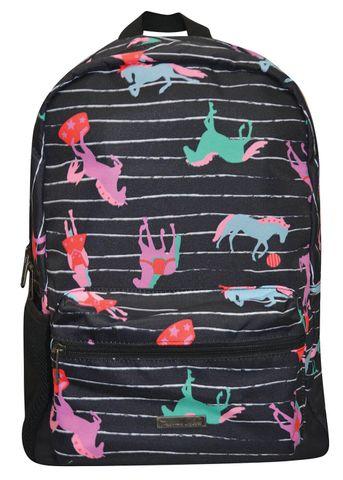 Horse Print Backpack - T9W7900BPK