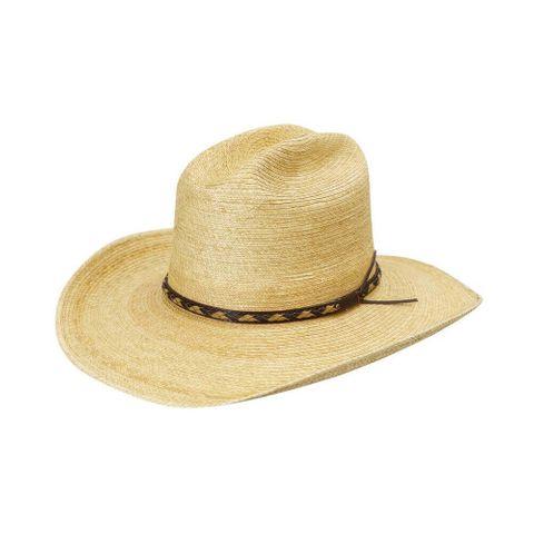 "Cattleman 4"" Brim Palm Hat - HG4AOAKC"