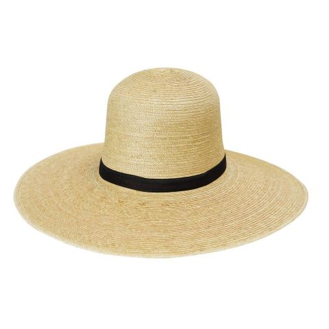 "Standard 5"" Brim Palm Straw Hat - HG5B OAK"