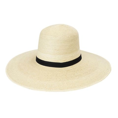 "Standard 5"" Brim Palm Straw Hat - HG5B STD"