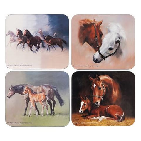 Horse Collection Coaster Set - 518934