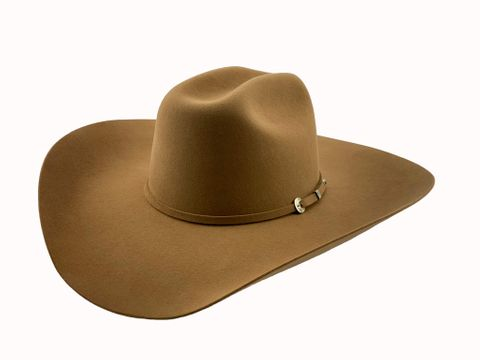 "6X Desert 4 1/2"" Brim Cowboy Hat - 6X RIDG"