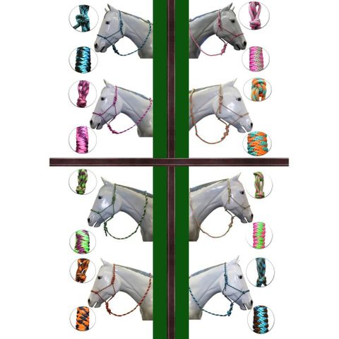 Rope Halter with 10' Lead - FOR3500