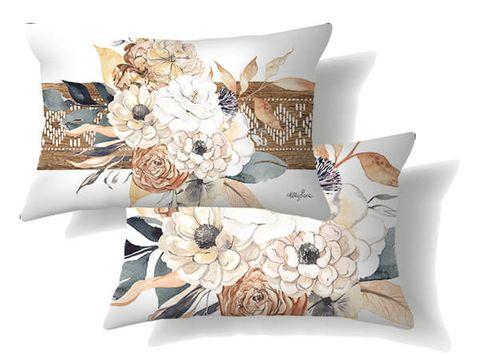 Barn Owl Floral Cushions - KRH-0001